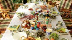 Spesa famiglia Pasqua