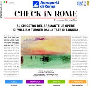 Magazine Check in Rome