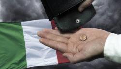 Aumento povertà Italia