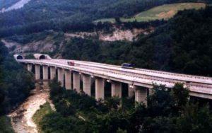 Chiusura viadotto E45