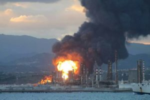 Disastro ambientale raffineria Milazzo