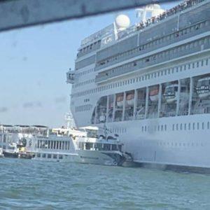 Venezia incidente nave