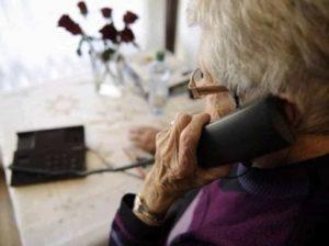 Truffe telefoniche anziani