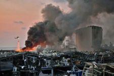 Beirut Ground Zero colpo mortale Libano